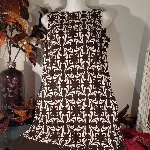 AGB Dresses & Skirts - Sleeveless black and white dress